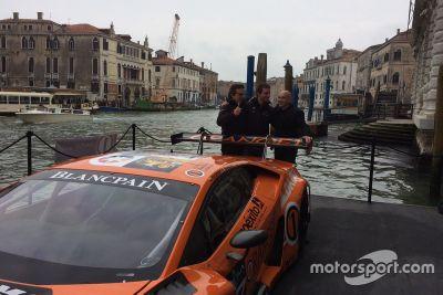 Presentazione Lamborghini Huracan GT3 Orange1 Racing