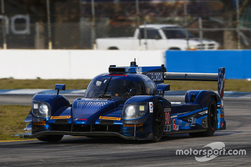 #90 Visit Florida Racing, Multimatic Riley LMP2: Marc Goossens, Renger van der Zande, René Rast