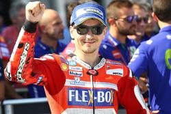 Il secondo classificato Jorge Lorenzo, Ducati Team