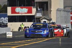 #8 Cadillac Racing Cadillac ATS-VR GT3: Michael Cooper, #58 Wright Motorsports Porsche 911 GT3 R: Patrick Long, #4 Magnus Racing Audi R8 LMS: Pierre Kaffer