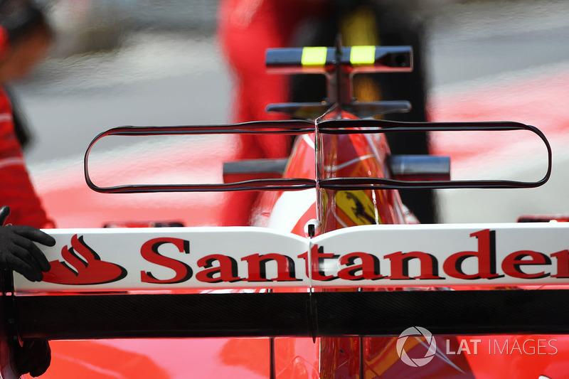 Капот Ferrari SF70H
