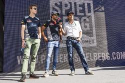 Данііл Квят, Карлос Сайнс-мол., Scuderia Toro Rosso