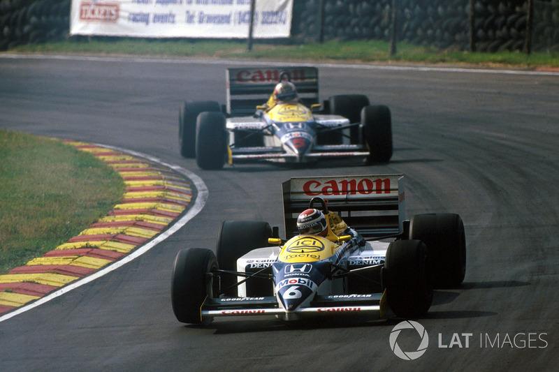 Brands Hatch 1986: Heimsieg nach Duell mit Nelson PIquet
