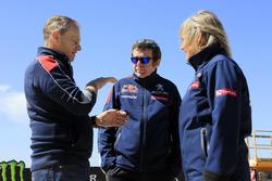 Susan Hansen Team Peugeot-Hansen Bruno Famin, Head of Peugeot Sport