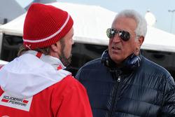 Gino Rosato, Ferrari with Piero Ferrari, Ferrari Vice-President