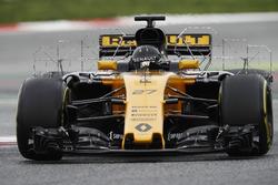 Нико Хюлькенберг, аэродинамические сенсоры на Renault Sport F1 Team RS17