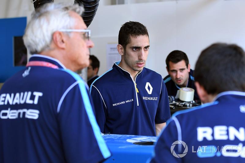 Jean Paul Driot y Sébastien Buemi, Renault e.Dams