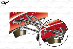 Ferrari F150 steering arm comparison