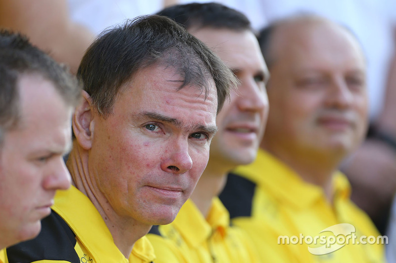 Alan Permane, Director de operaciones de tierra de Renault Sport F1 Team