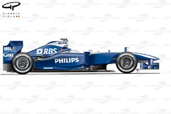 Williams FW31 side view