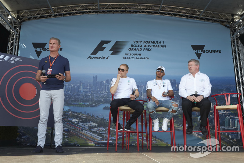 David Coulthard, Channel 4 F1, entrevista a Valtteri Bottas, Mercedes AMG, Lewis Hamilton, Mercedes