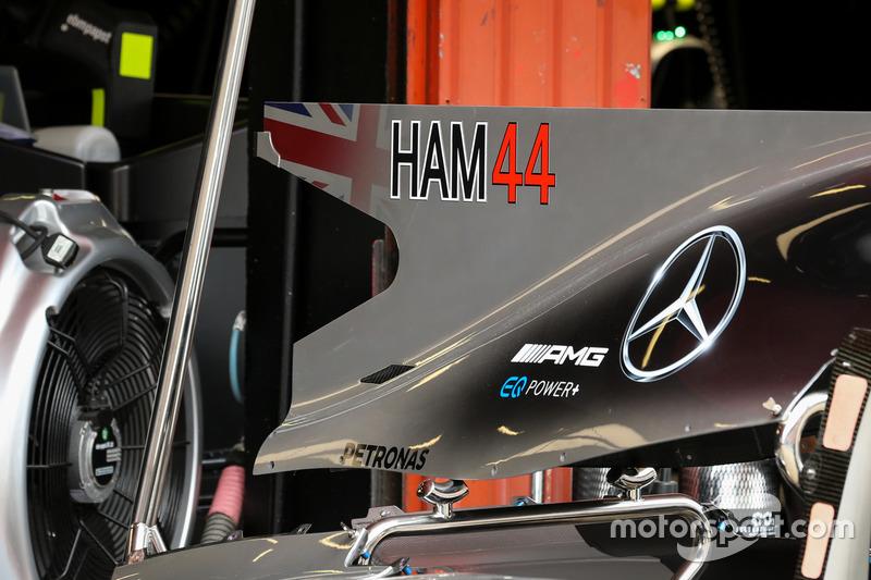 Фрагмент Mercedes-Benz F1 W08