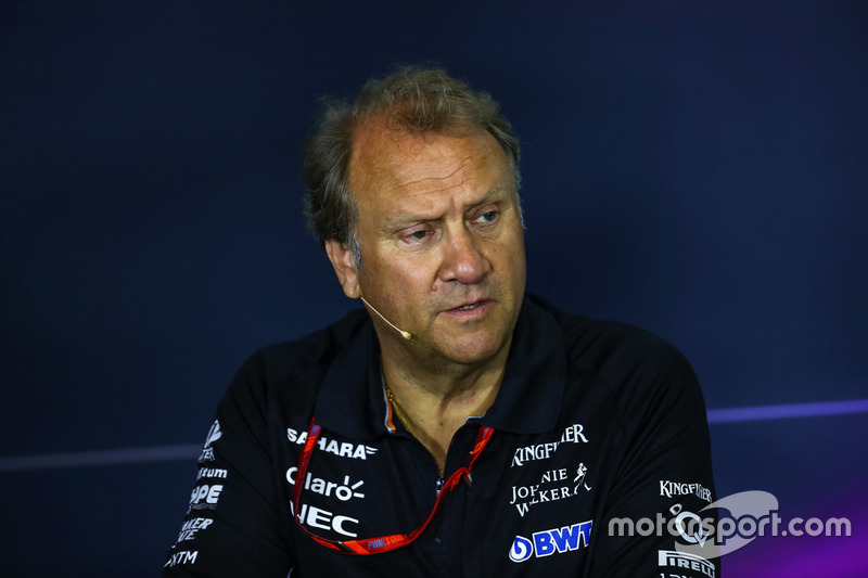 Robert Fearnley, Sahara Force India F1 Team Deputy Team Principal in the Press Conference