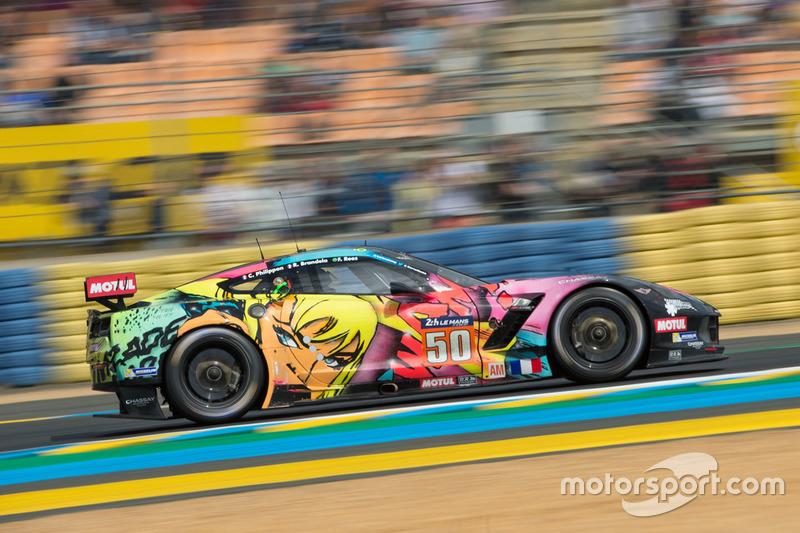 #50 Larbre Competition, Corvette C7-Z06: Romain Brandela, Christian Philippon, Fernando Rees