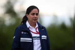 Monisha Kaltenborn, director del equipo Sauber