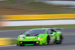 #19 GRT Grasser Racing Team Lamborghini Huracan GT3: Renger Van Der Zande, Frédéric Vervisch, Ezequi