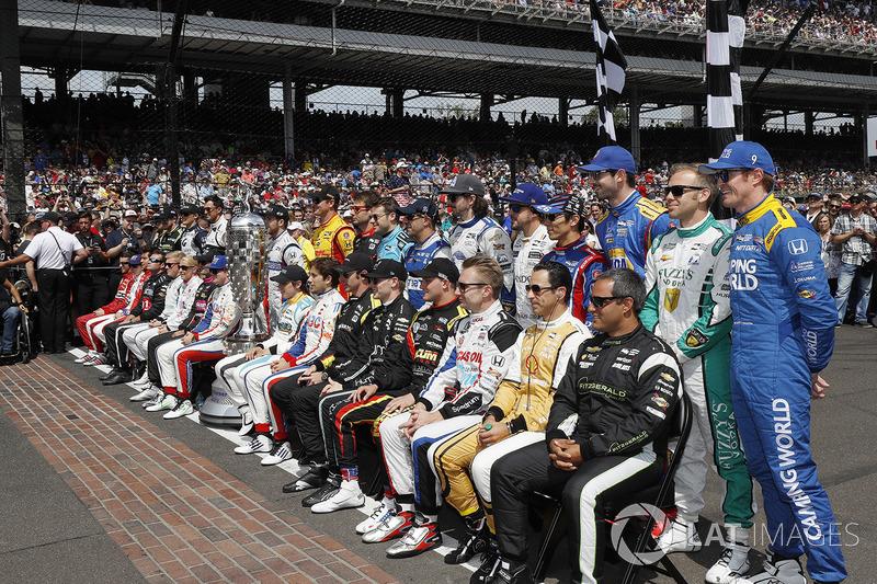 Foto de grupo de Indy 500