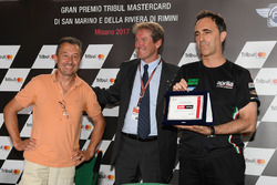 Giovanni Copioli, President of the Italian Motorcycle Federation on the 30th anniversary of the first victory of Aprilia Racing Team Gresini