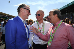 Sean Bratches, Formula One Managing Director, Commercial Operations and Andrew Westacott, Australian GP CEO