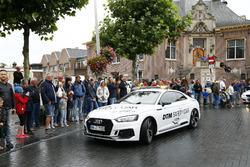 Loic Duval, Audi Sport Team Phoenix, Audi RS 5 DTM nella Audi RS5 Safety car