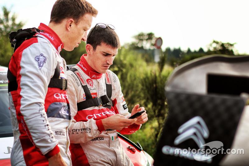 Пилоты Citroën World Rally Team Крис Мик и Крейг Брин