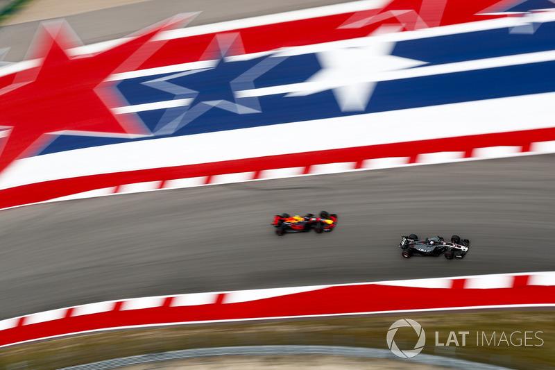 Ромен Грожан, Haas F1 Team VF-17, Макс Ферстаппен, Red Bull Racing RB13
