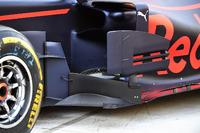 Detalle del bargeboard del Red Bull Racing RB13