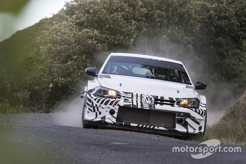Volkswagen testet Polo GTI R5