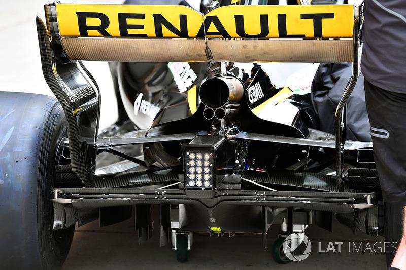 Renault Sport F1 Team R.S. 18 vista trasera