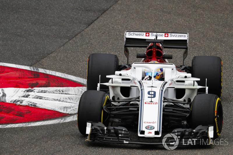20: Marcus Ericsson, Sauber C37 Ferrari, 1'34.914 (inc 5-place grid pen)