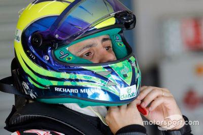 Felipe Massa testet Formel E
