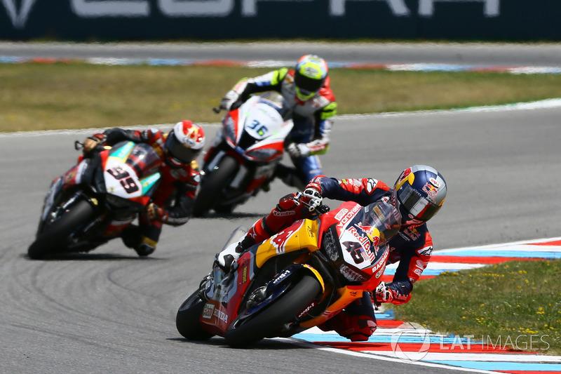 Jake Gagne, Honda WSBK Team, Patrick Jacobsen, Triple M Racing