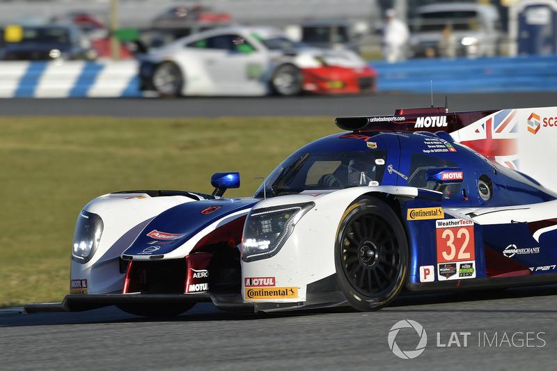 32. #32 United Autosports Ligier LMP2: Bruno Senna