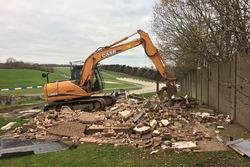 Bauarbeiten in Donington