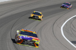 Kyle Busch, Joe Gibbs Racing Toyota, Matt Kenseth, Joe Gibbs Racing Toyota and Denny Hamlin, Joe Gibbs Racing Toyota