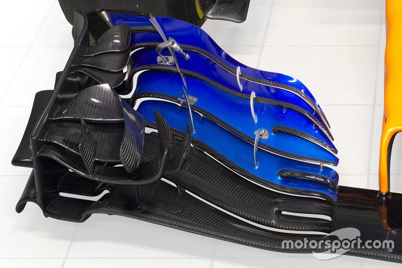 McLaren MCL33 ala delantera detalle