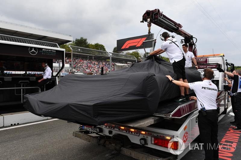 El coche de Lewis Hamilton, Mercedes-AMG F1 W09