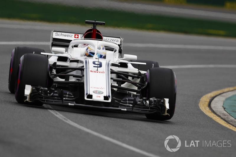 SAUBER: Ericsson 1 x 0 Leclerc