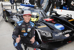 Overall polesitter Renger van der Zande, Wayne Taylor Racing