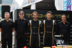 Mark Preston, Jean-Eric Vergne, Techeetah, Andre Lotterer, Techeetah