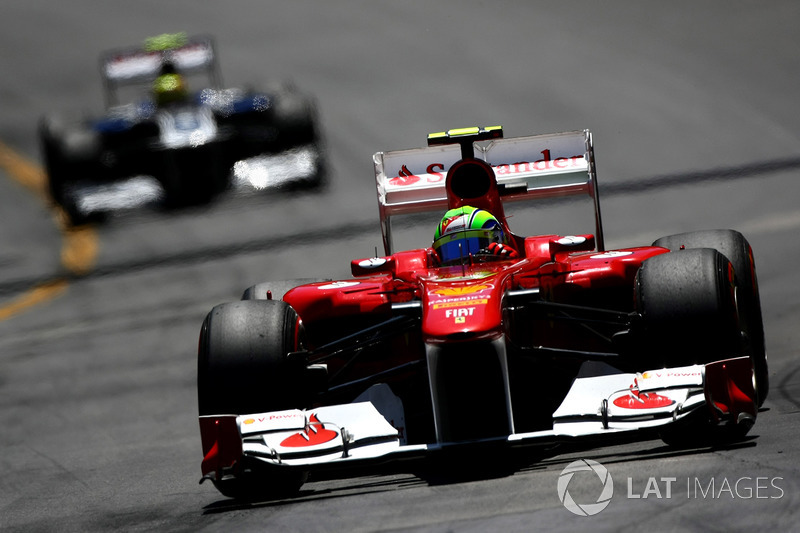 """2011: سيارة فيراري """"اف150"""" – 118 نقطة، المركز السادس في البطولة"""
