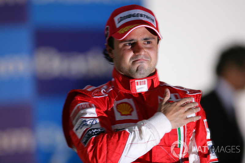 Ganador del GP de Brasil 2008: Felipe Massa, Ferrari