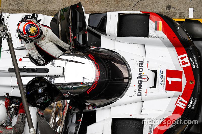 #1 Porsche 919 Hybrid: Neel Jani, Andre Lotterer, Nick Tandy