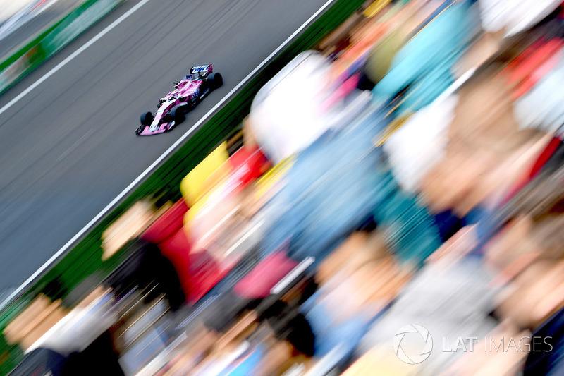 12e : Sergio Pérez (Force India)