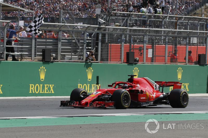 Grande-Bretagne - Vainqueur : Sebastian Vettel