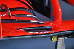 تفاصيل الجناح الأماامي لسيارة فيراري اس.اف71اتش