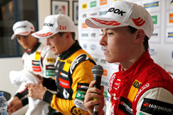 Persconferentie, Marcus Armstrong, PREMA Theodore Racing Dallara F317 - Mercedes-Benz