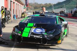 #55 Dörr Motorsport: Jacobus Bartles, crashed car