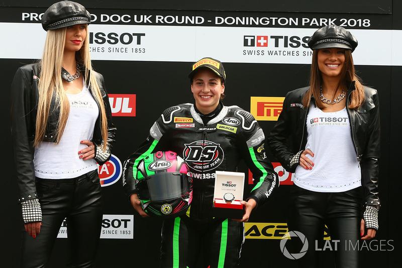 SSP300 ganador de la pole Ana Carrasco