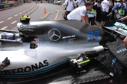 Cubierta motor del Mercedes-AMG F1 W09
